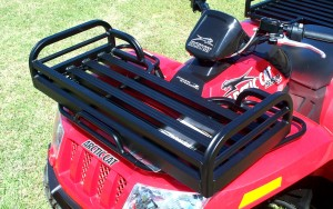 Mighty-Lite Front Rack on Arctic Cat