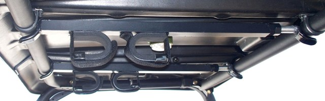 QUICK DRAW OVERHEAD GUN RACK 15-23 INCH YAMAHA VIKING WOLVERINE CLUB CAR BAD BOY