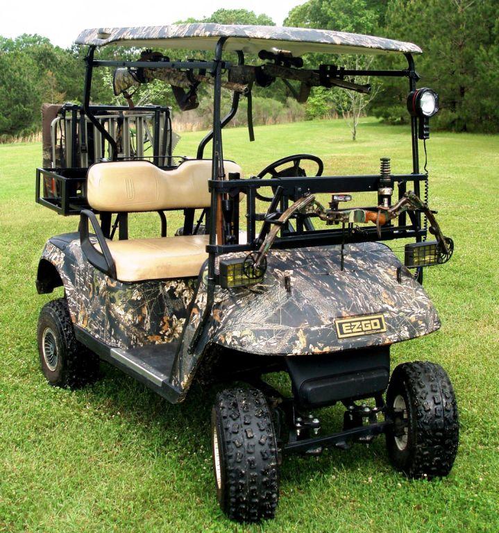 Power Ride Custom Cart Bow Rack Great Day Inc
