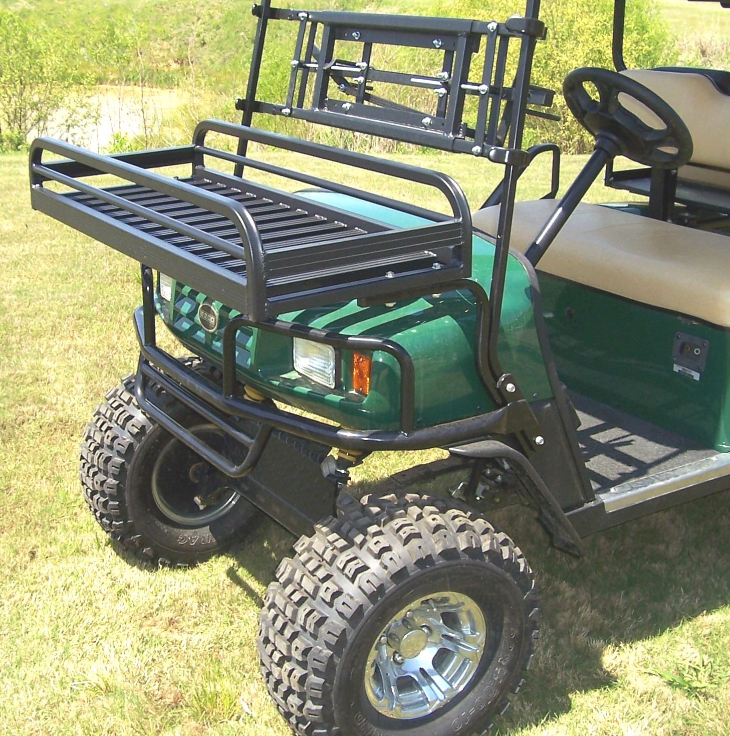 Custom Cart Front  Rack CCFR750