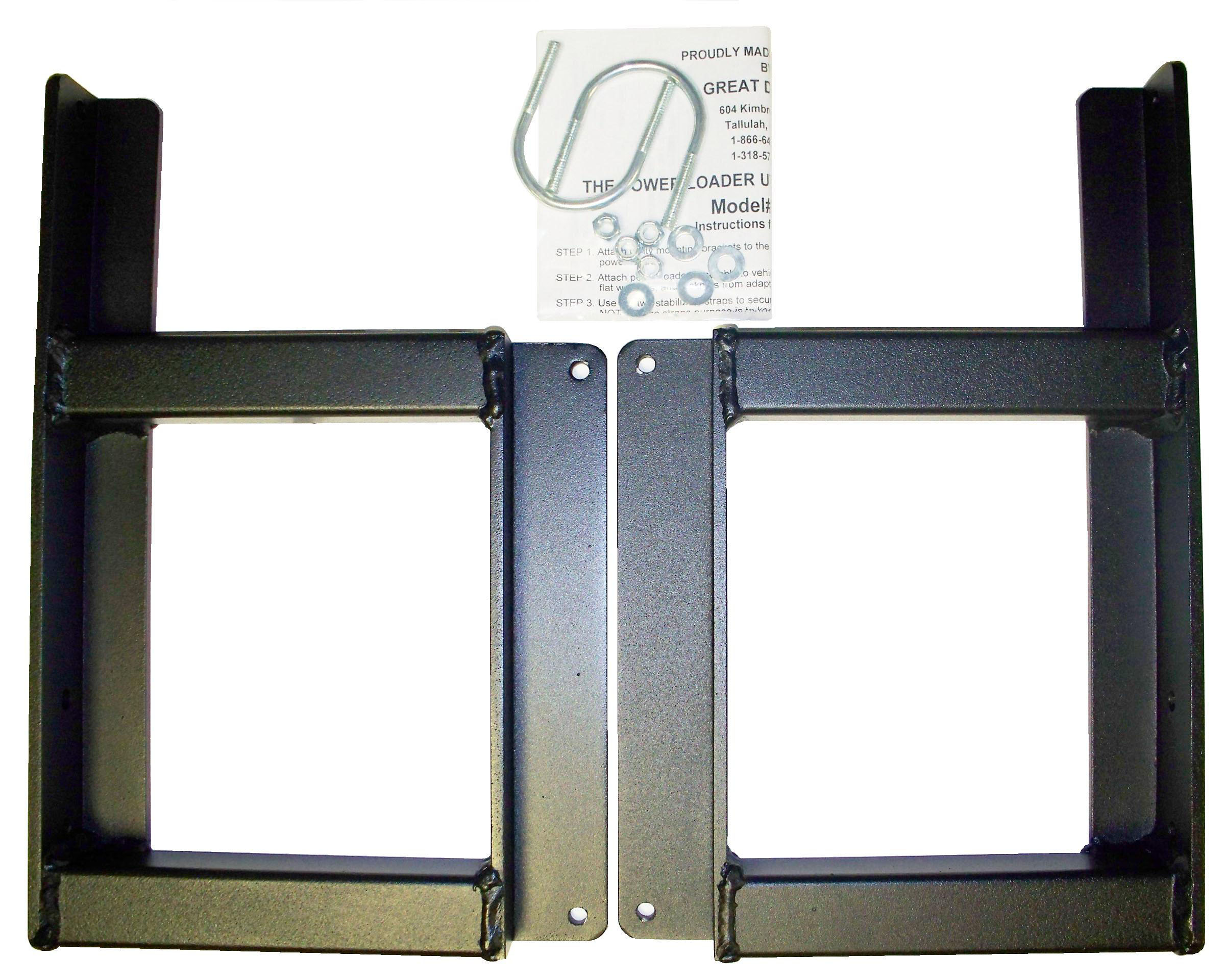 PLUT 1_UTV Powerloader Adapter Bracket