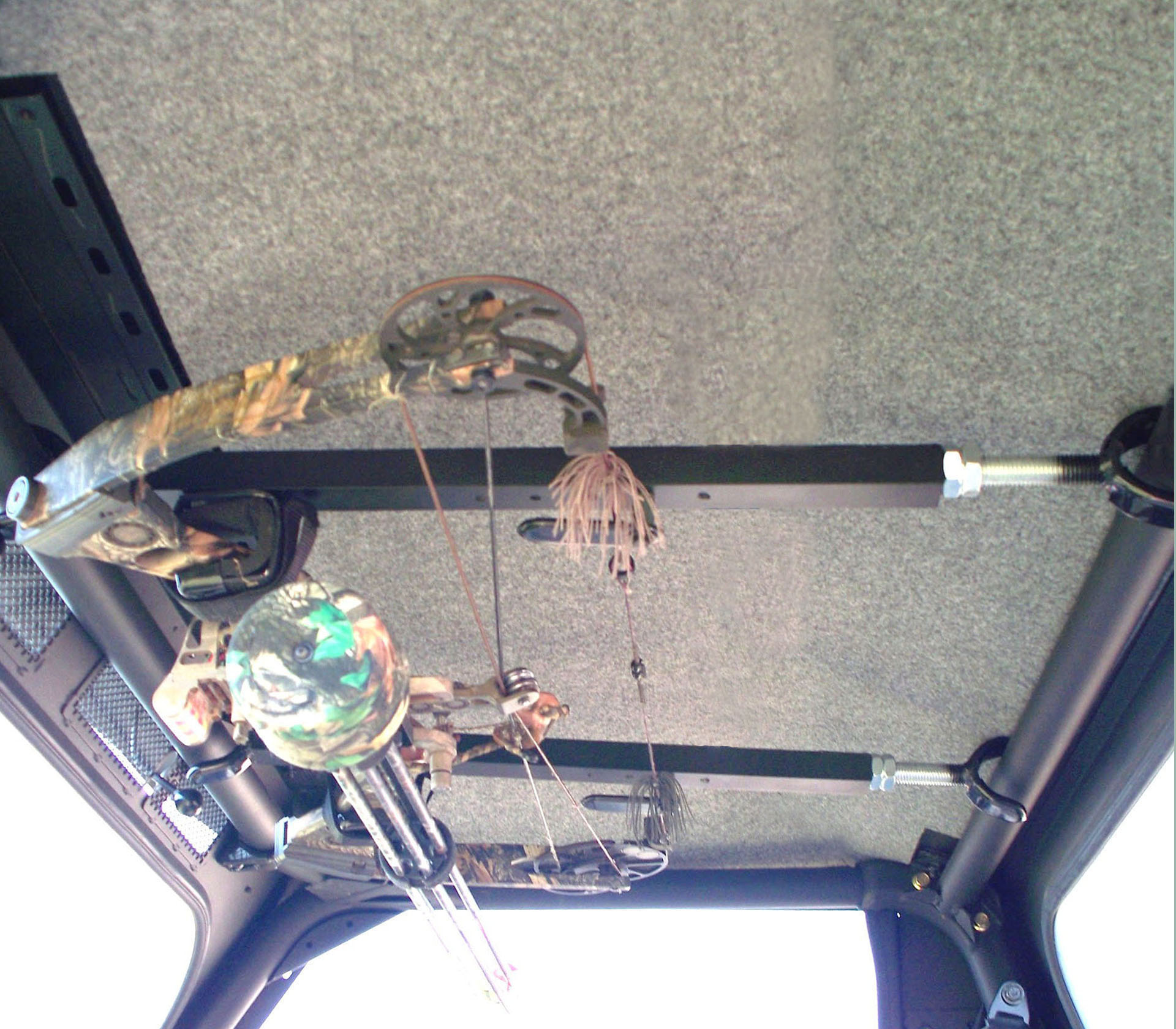 Quick Draw Overhead Bow Rack_