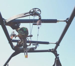 QuickDraw Overhead Bow Rack