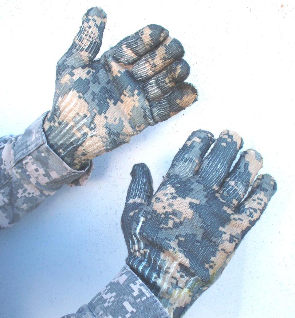 Spando-Flage Camo Gloves_ ACU  SF306ACU