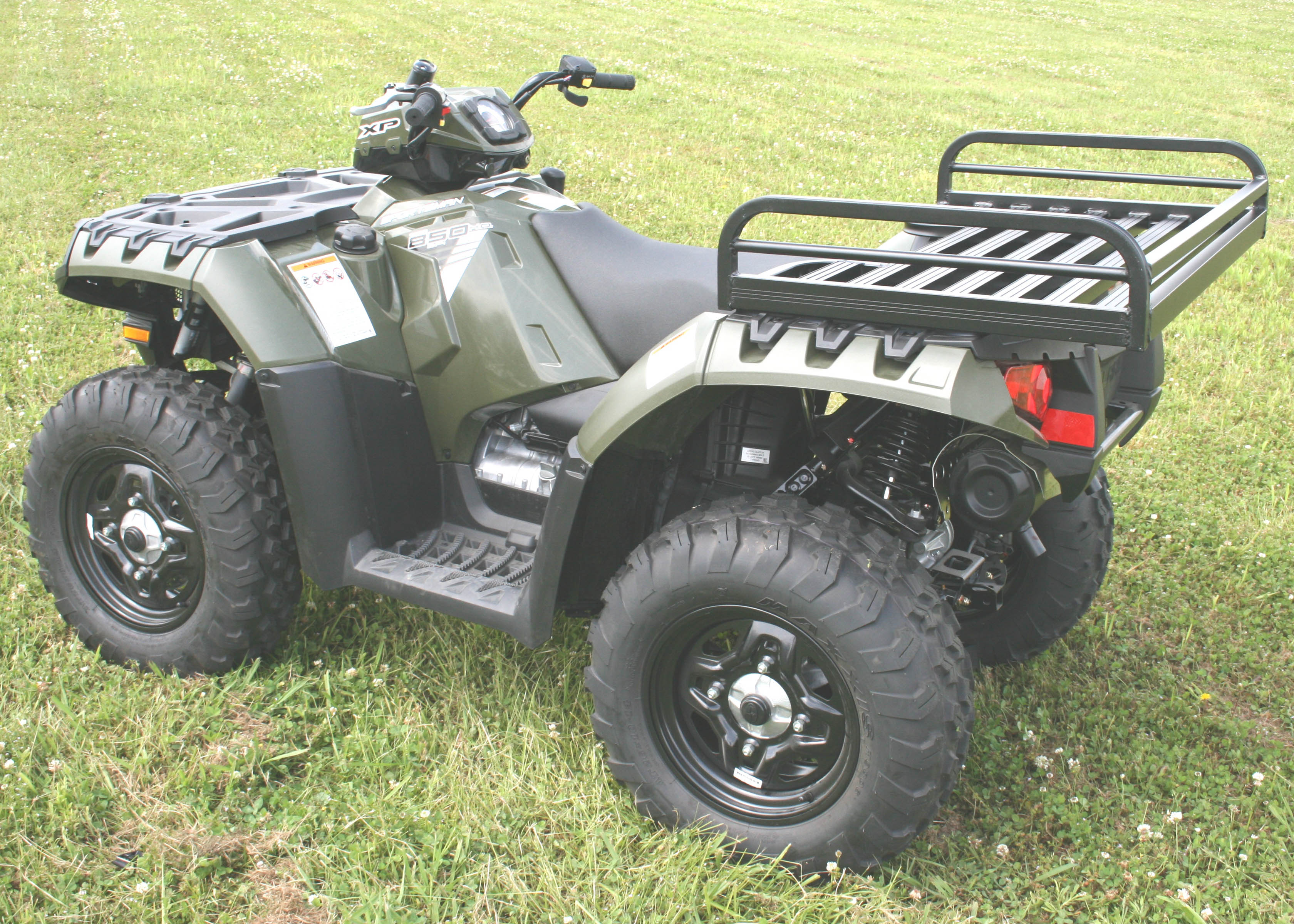 Best rack of the day car pictures - Mlrr60p Mighty Lite Rear Rack Polaris Only